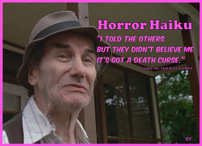 Horror Haiku – Friday the 13th 2