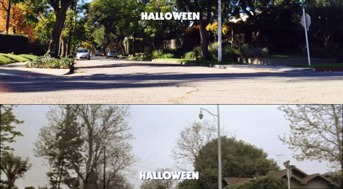 Halloween opening credit comparison – 1978 & 2015!