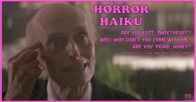 Horror Haiku – Poltergeist