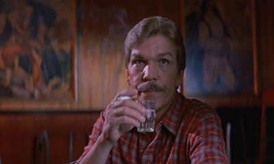 Tom Atkins (actor) halloween crimson quill