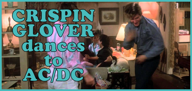 Crispin Glover's Friday the 13th 4 Dance!