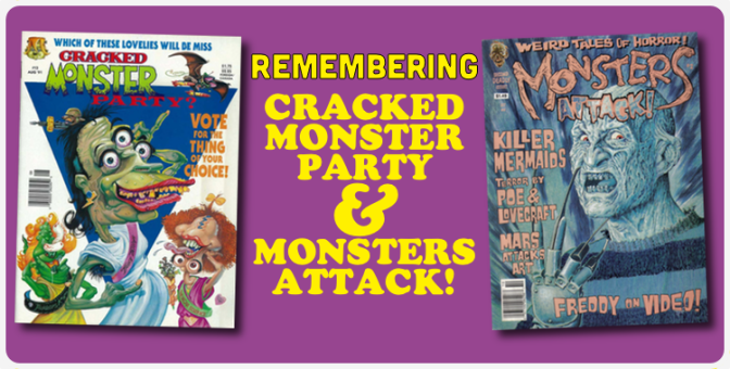 Remembering… Cracked Monster Party & Monsters Attack!