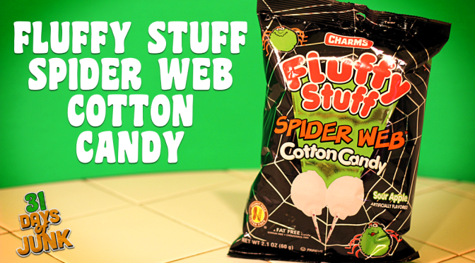 31 Days of Junk: Charms Spider Web Cotton Candy (#8)