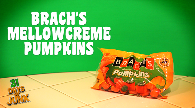 31 Days of Junk: Brach's Mellowcreme Pumpkins (#14)