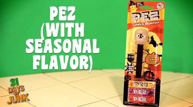 31 Days of Junk: Candy Corn-Flavored Pez (#15)