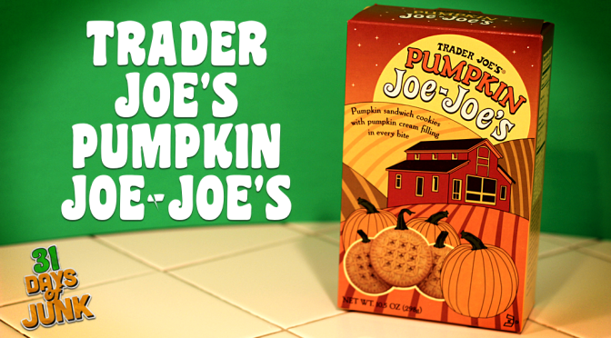 31 Days of Junk: Trader Joe's Pumpkin Joe-Joe's (#17)