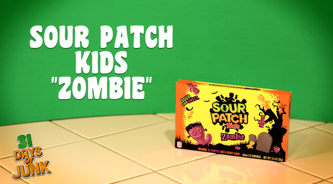 31 Days of Junk: Sour Patch Kids Zombie (#29)