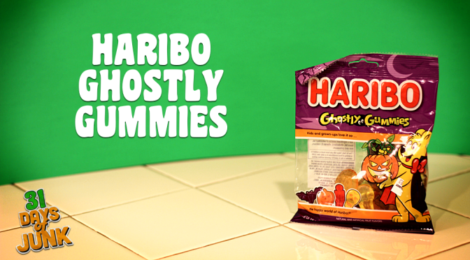 31 Days of Junk: Haribo Ghostly Gummies (#24)
