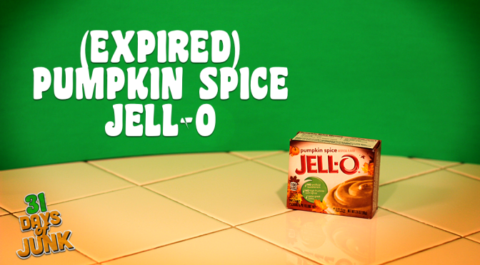 31 Days of Junk: Pumpkin Spice Jell-O Pudding (#31)