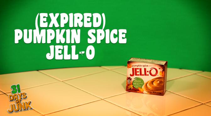 31 Days of Junk: Pumpkin Spice Jell-O Pudding (#31)