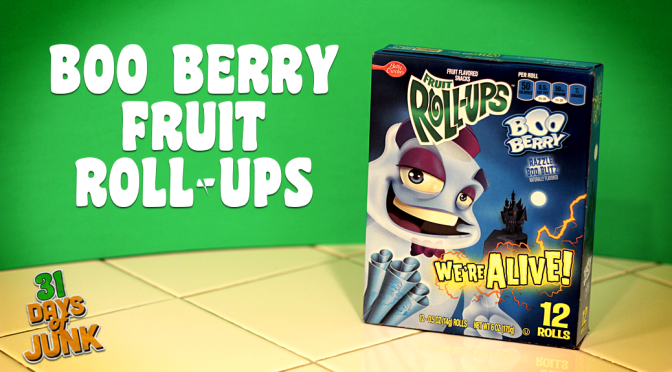 31 Days of Junk: Boo Berry Fruit Roll-Ups (#13)