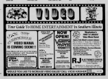 general video store ad