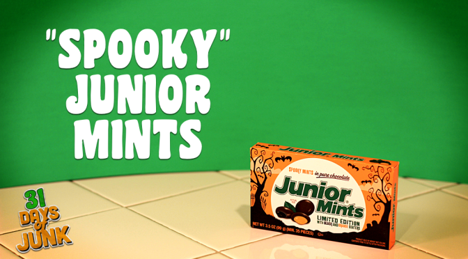 31 Days of Junk: Spooky Junior Mints (#12)