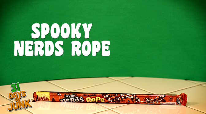31 Days of Junk: Spooky Nerds Rope (#23)