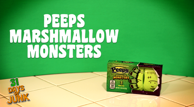 31 Days of Junk: Peeps Marshmallow Monsters (#28)