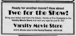 Varsity Movie Store